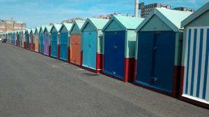 Beach-huts-many
