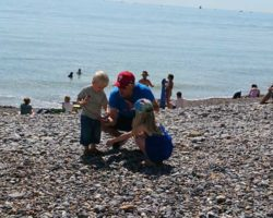 Family Beachcombing Adventure